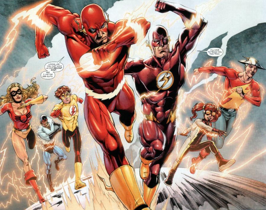 Героите в техните различни версии: The Flash Част 1-Комикси