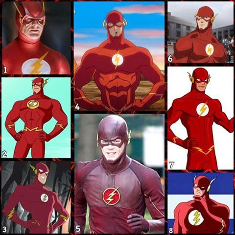 Героите в техните различни версии: The Flash част 2-анимация и телевизия