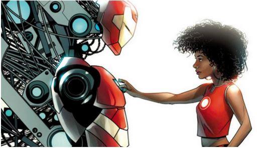 И новото име на Iron Man e…