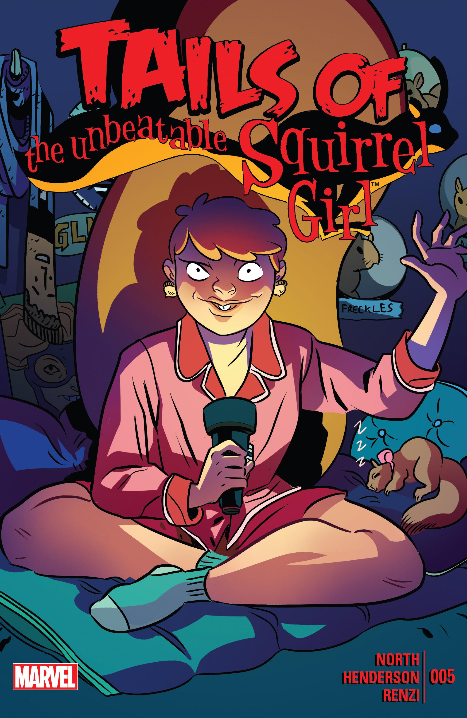 Комикс ревю: The Unbeatable Squirrel Girl #5