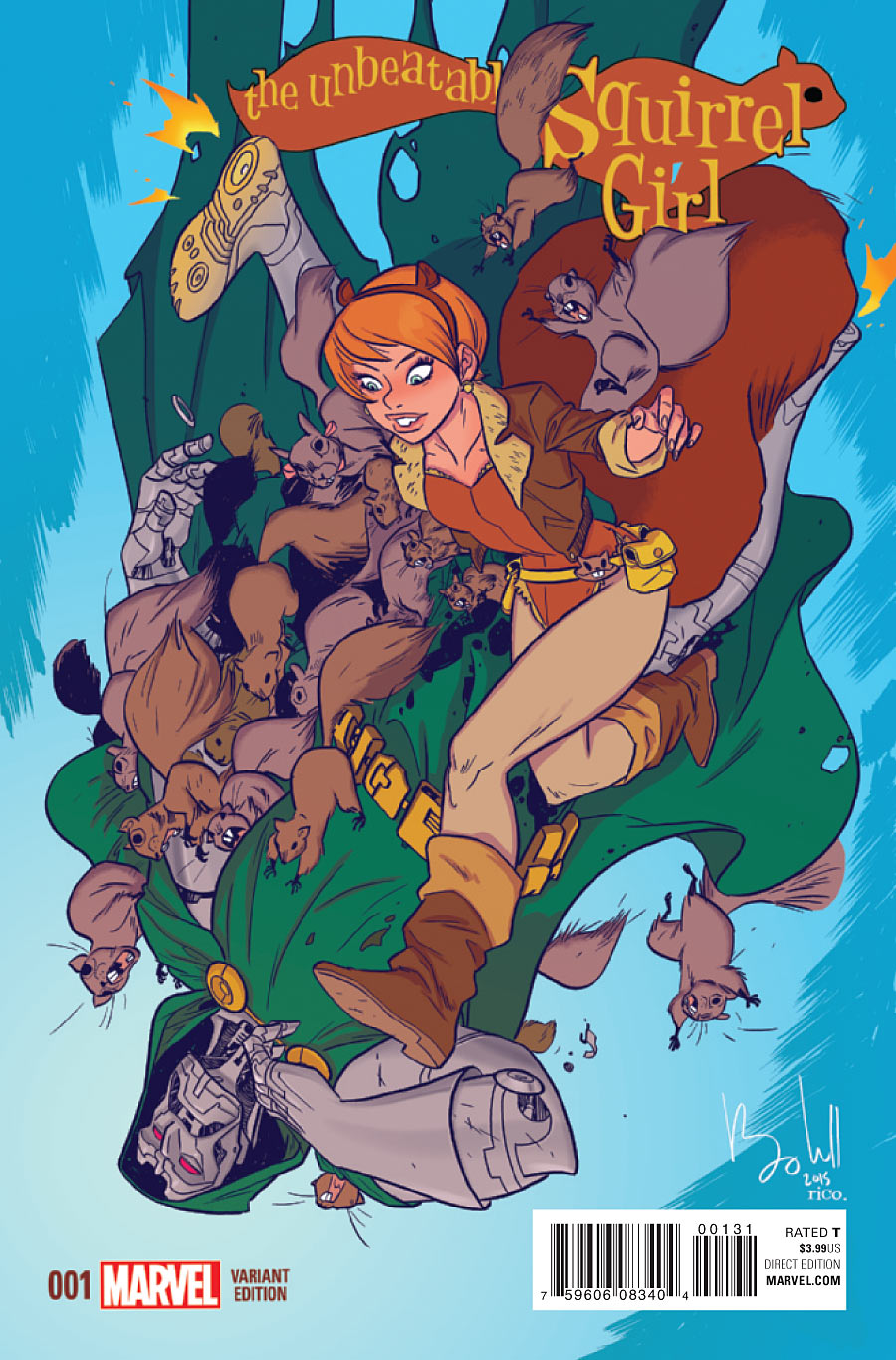 Комикс ревю: The Unbeatable Squirrel Girl #2-5 Vol. 2