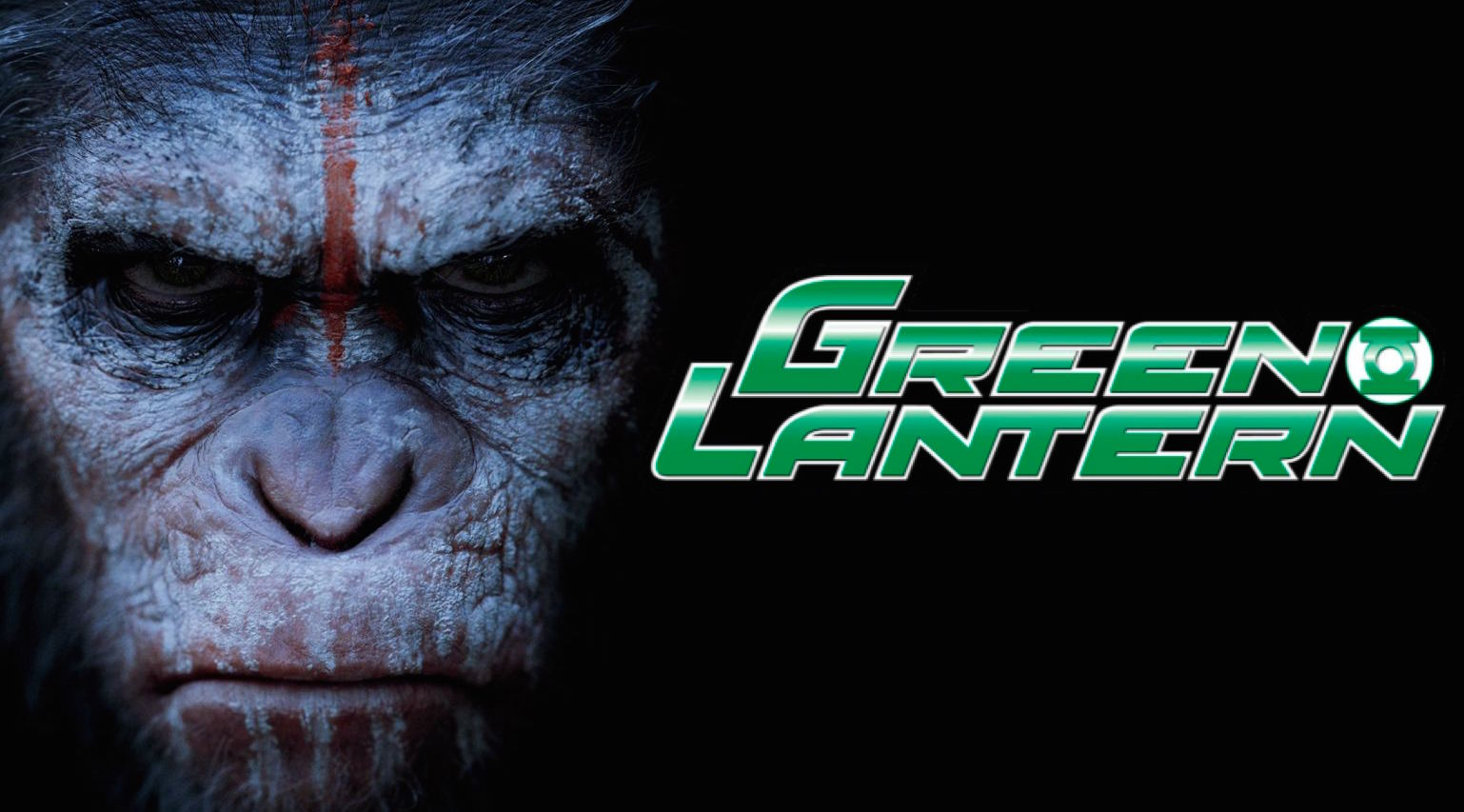 Green Lanthern и Planet of the Apes заедно в нов crossover