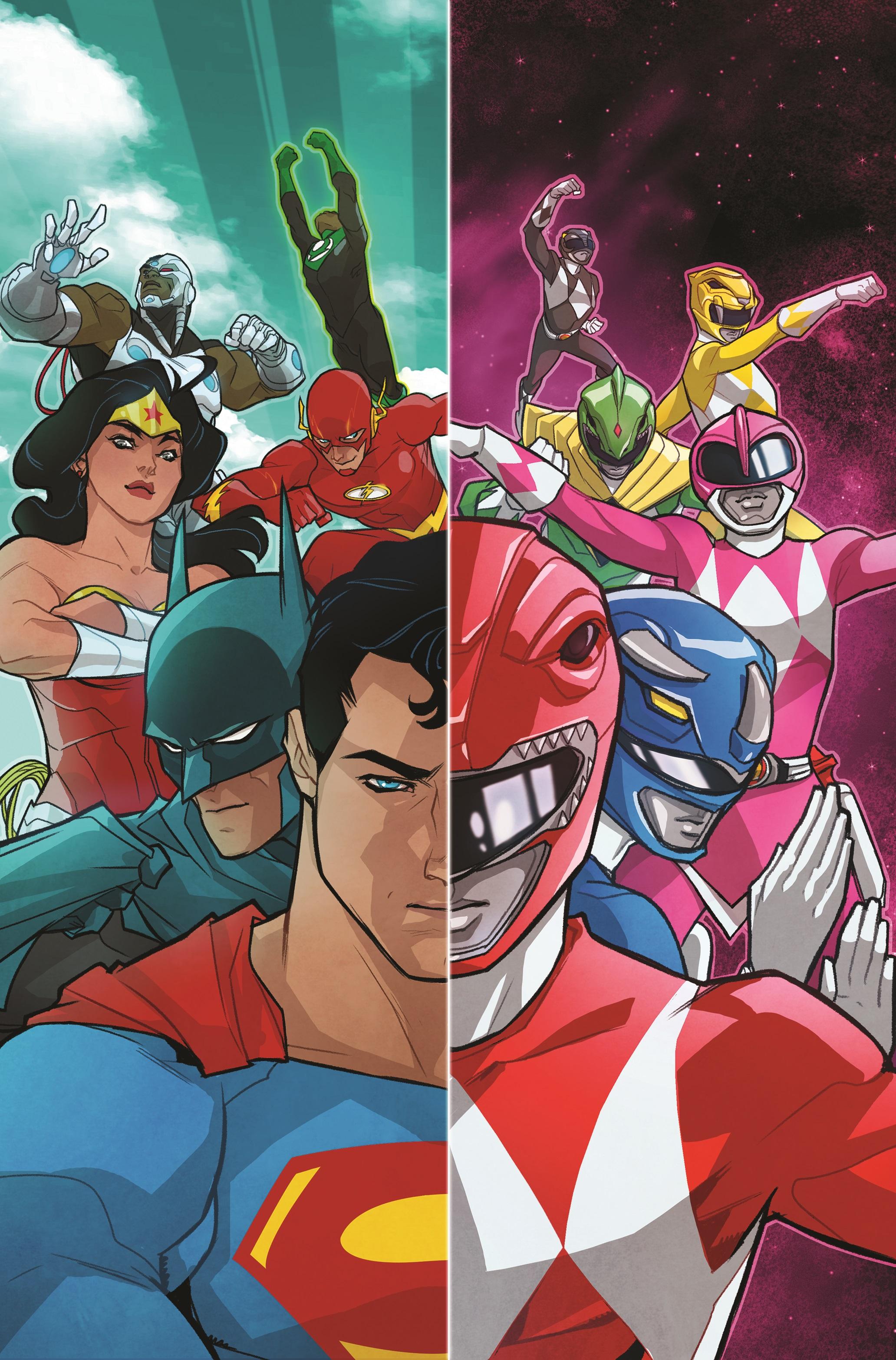 DC, BOOM! Studios и Saban обявиха официално ще има JUSTICE LEAGUE и MIGHTY MORPHIN POWER RANGERS в едно!