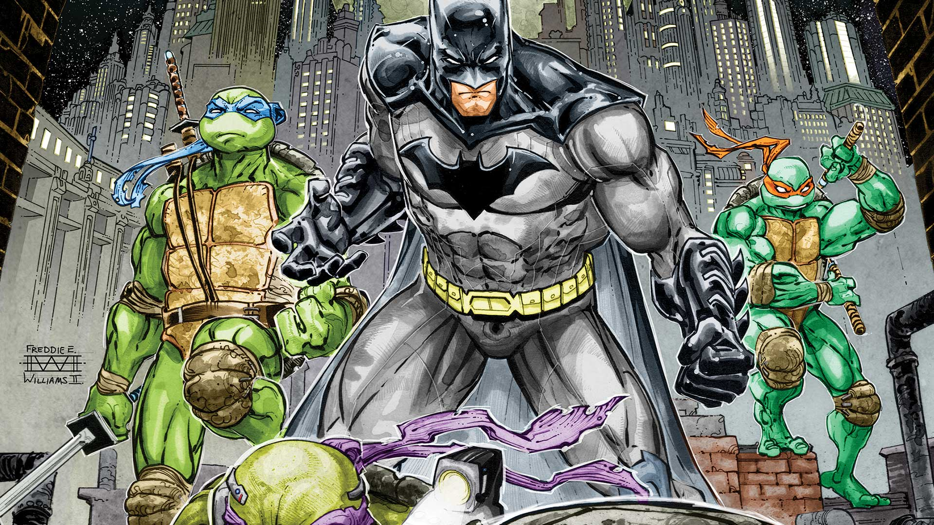 Ревю: Batman/TMNT Crossover