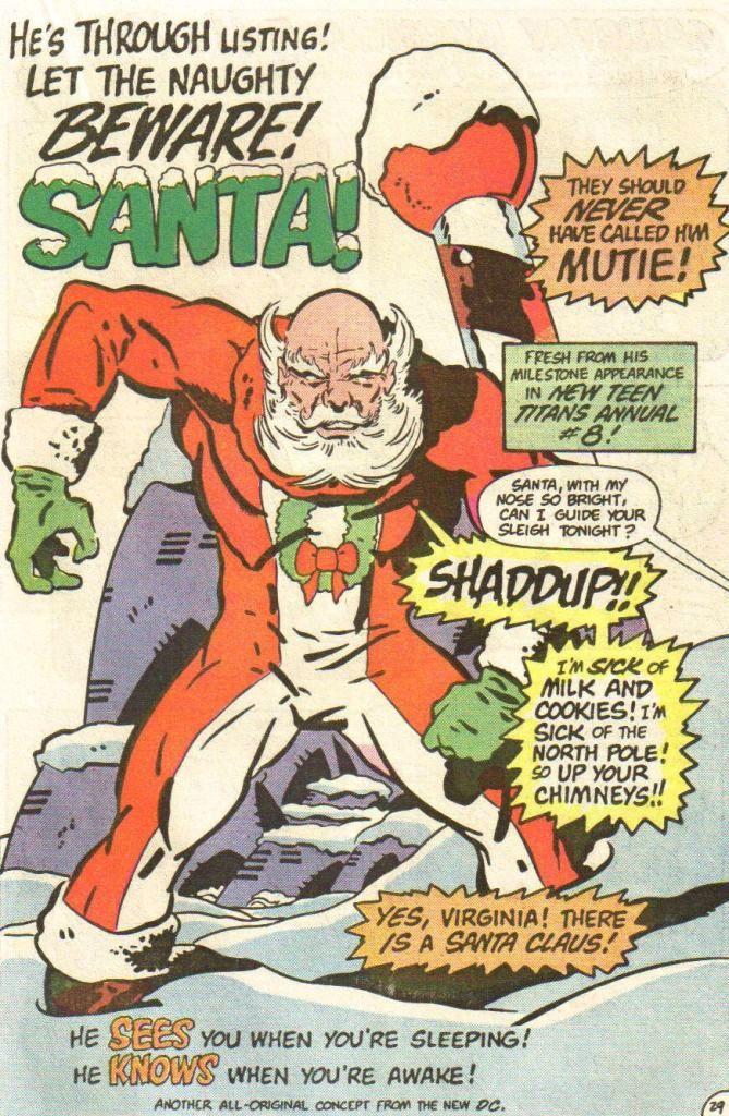 6 доказателства, че Дядо Коледа е супер герой.