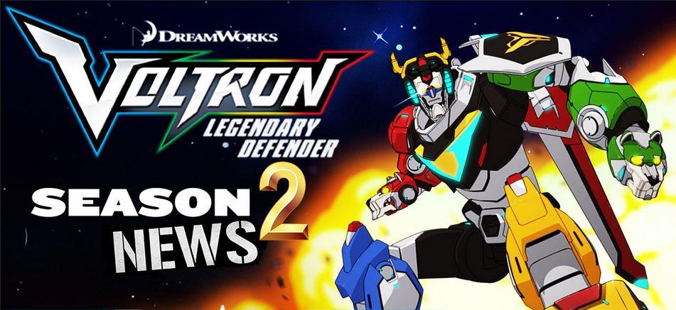 Втори сезон на Netflix's Voltron  с обявена дата и трейлър