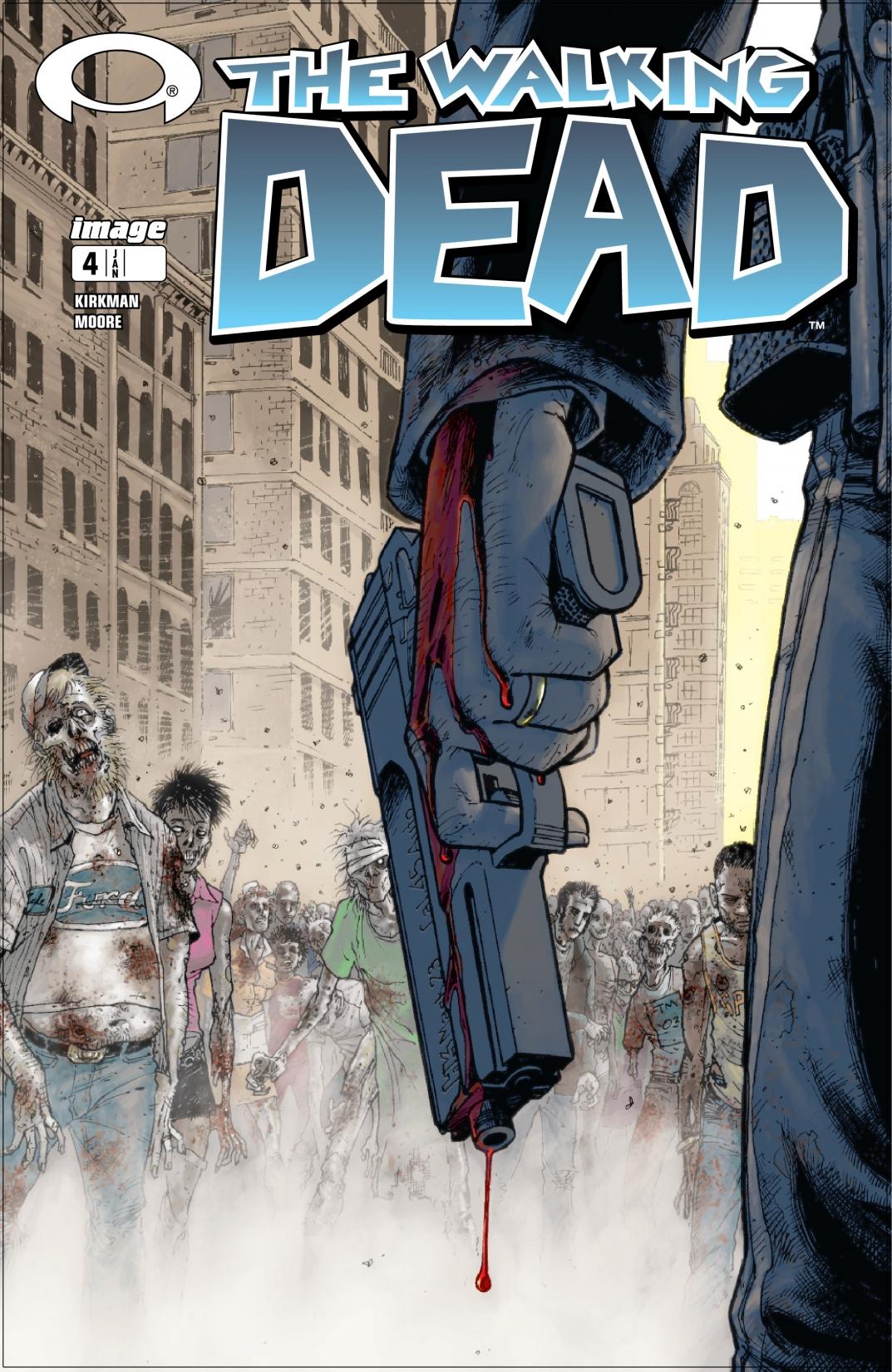 Комикс ревю: Живите мъртви #4