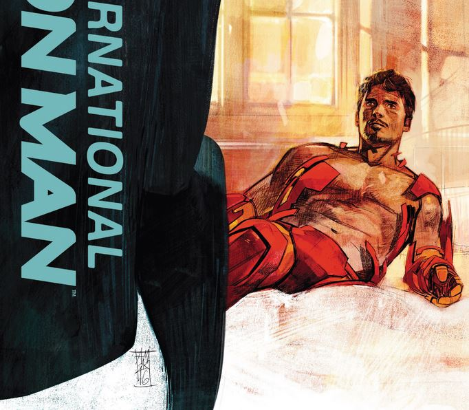 Комикс Ревю: International Iron Man #5