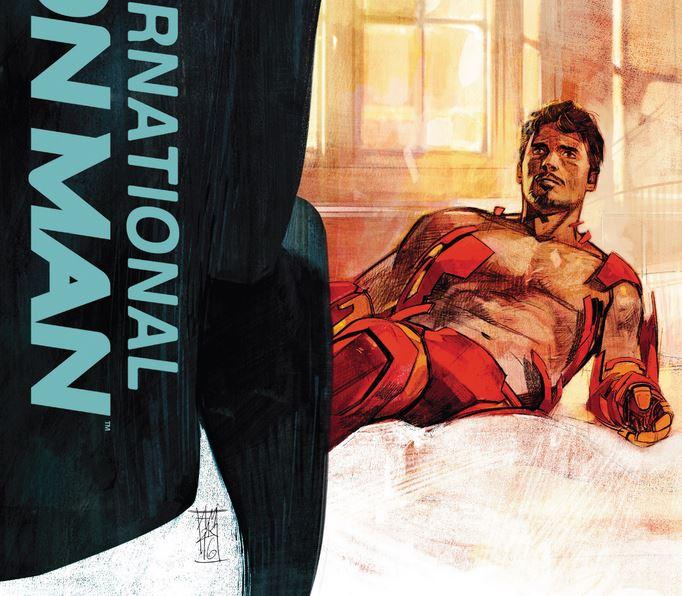 Комикс Ревю: International Iron Man #5