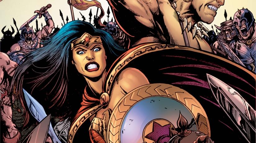 Очаква ни кросоувър с Wonder Woman и Конан Варварина