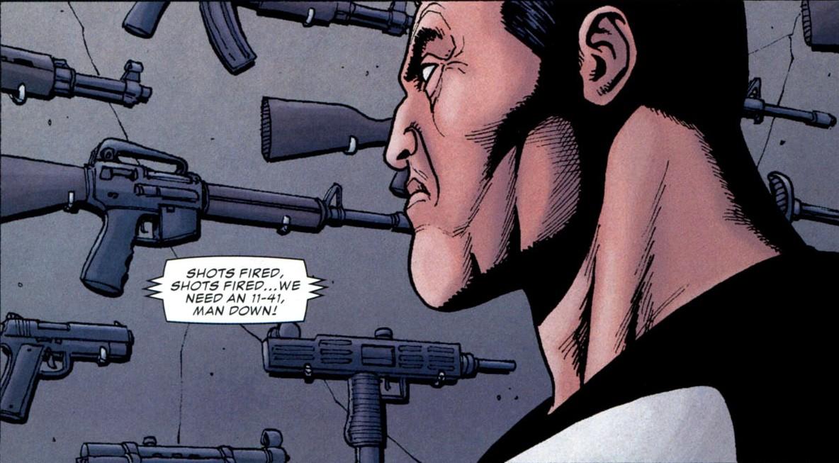Оръжия, оборудване и джаджи: Арсенала на The Punisher