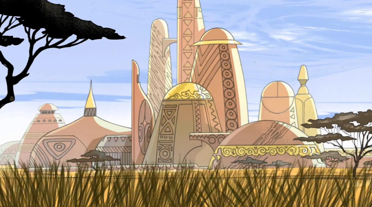 Комикс градове, държави, планети и вселени: Уаканда