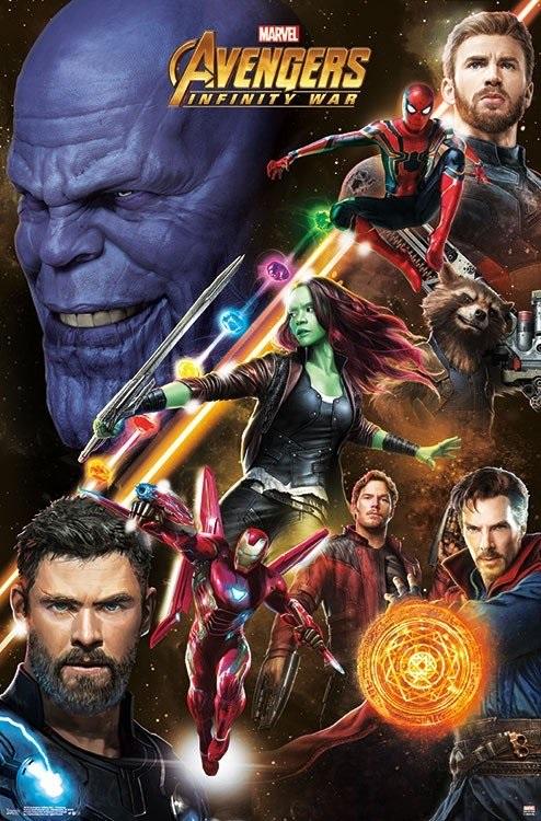 Нов Промо Арт oт Avengers: Infinity War