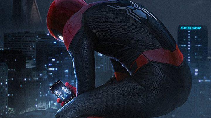 Нов червено-черен костюм за Spider-man:Far From Home
