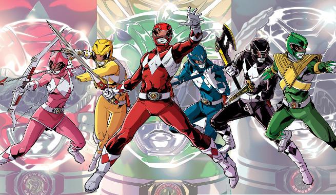 """Не-Марвел и DC"" месец- Power Rangers от Boom Studios"
