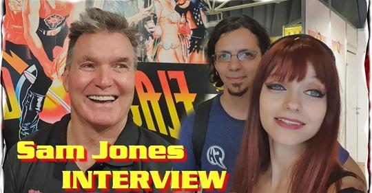 Аniventure Comic Con 2019: Интервю със Сам Джоунс/Флаш Гордън