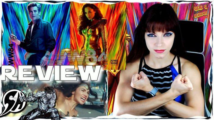 Wonder Woman 1984/Жената Чудо 1984 full trailer реакция