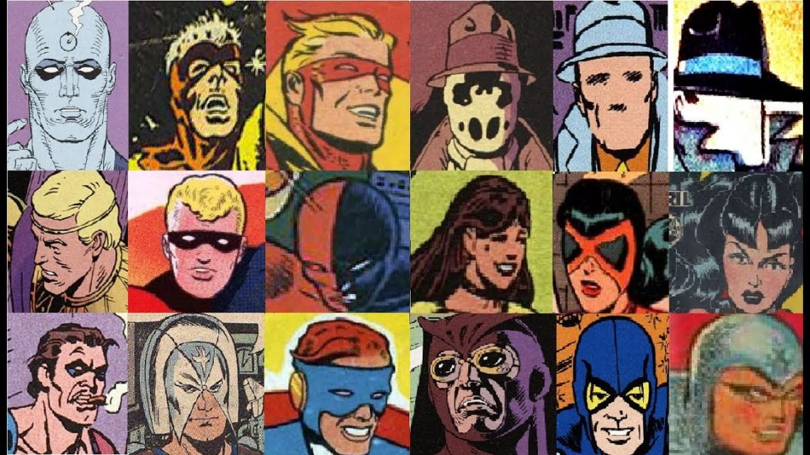 Върху кои герои са базирани персонажите от Watchmen