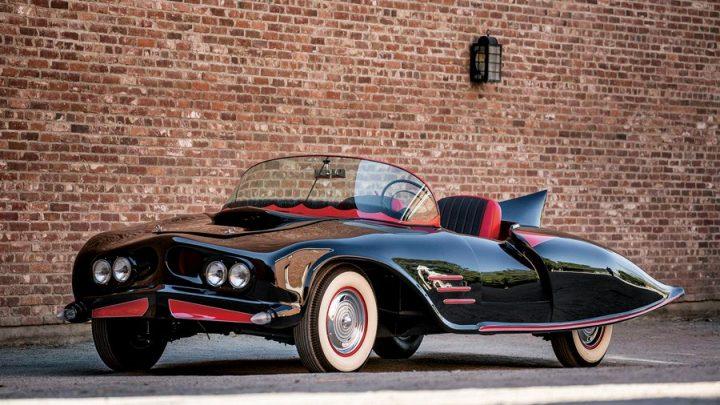 Първият Batmobile, който никога не видяхме на екран.