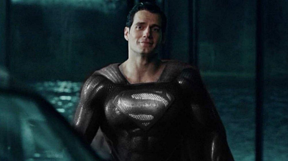 Официален клип от Snyder Cut- Супермен с черния костюм!