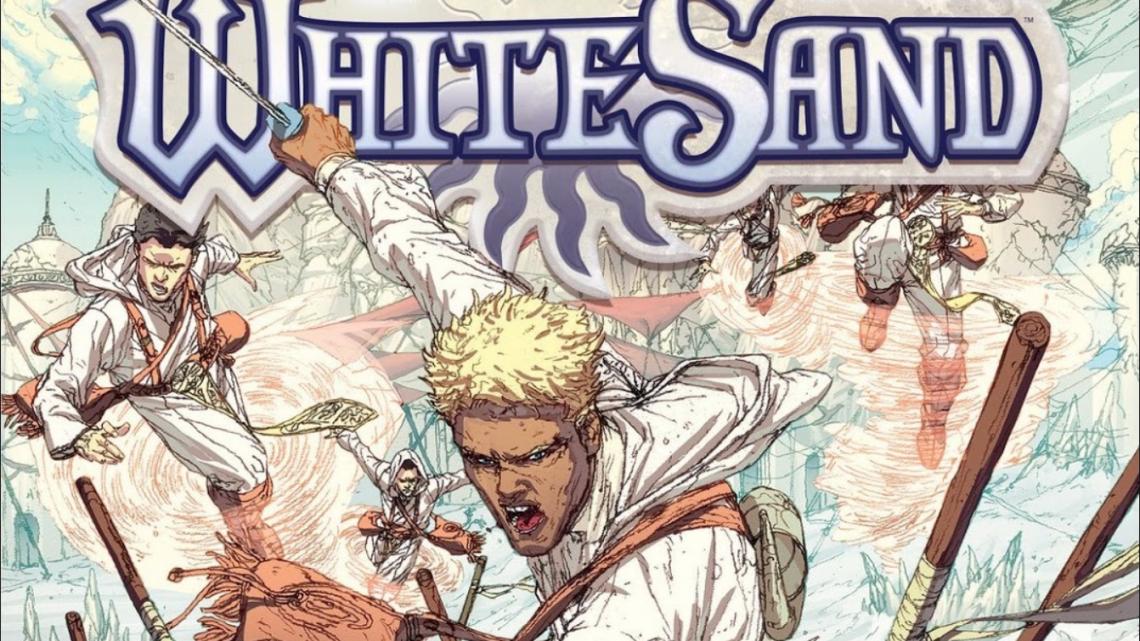 Комикс Ревю: Бял Пясък(White Sand)