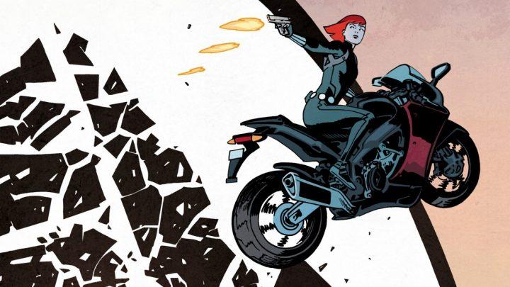 """Комикс Ревю: """"Черната Вдовица: Издирвана от Щ.И.Т."""""""