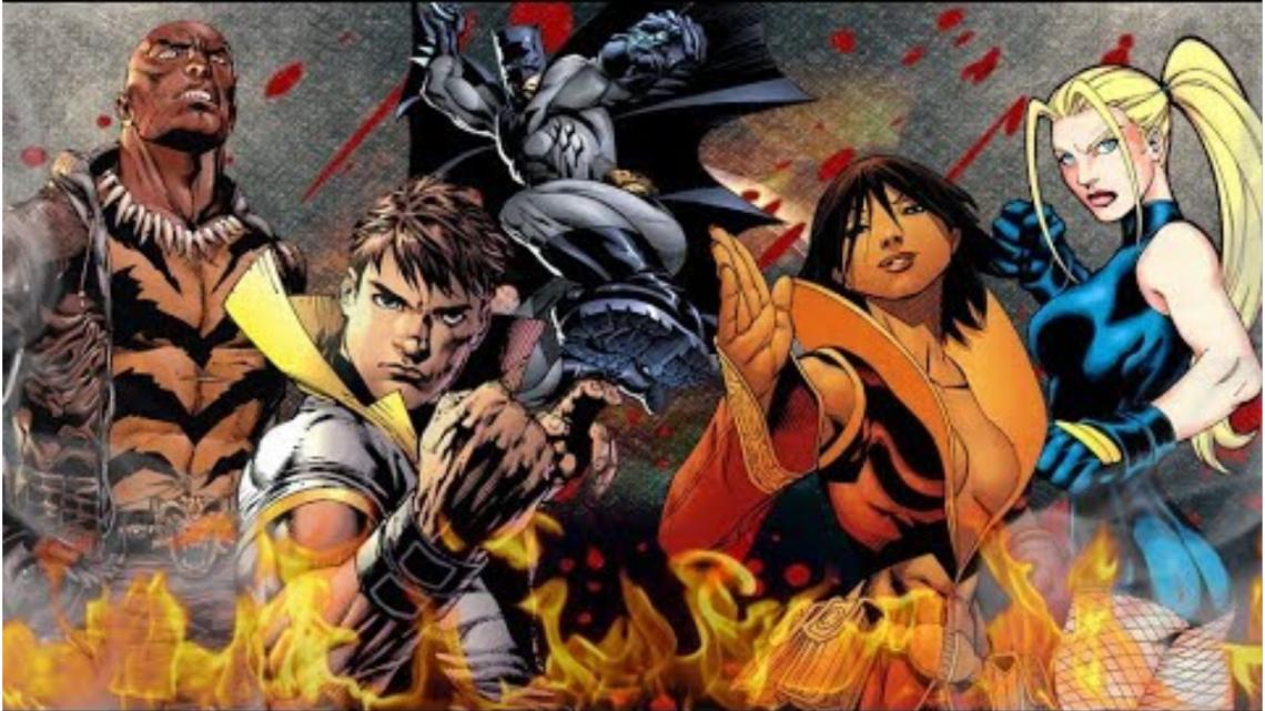 Пет майстори на бойните изкуства в комиксите(DC)