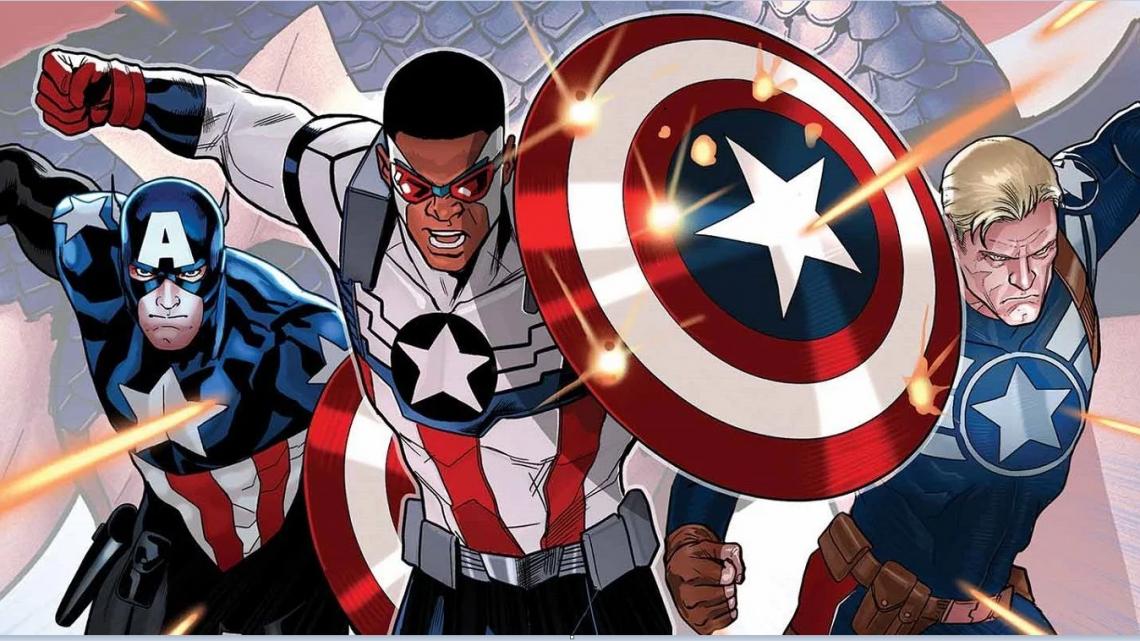 6 персонажа, които са били Капитан Америка